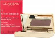Clarins Ombre Minerale Øjenskygge 2g - 12 Aubergine