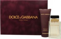 Dolce & Gabbana Pour Femme Gavesæt 50ml EDP + 100ml Body Lotion