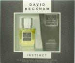 David Beckham Instinct Gavesæt 30ml EDT + 150ml Shower Gel