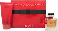 Lalique Le Parfum Gavesæt 100ml EDP + 150ml Shower Gel