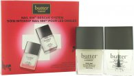 Butter London Nail 999 Rescue System Gavesæt 11ml Topcoat + 11ml Basecoat