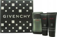 Givenchy Play Intense Gavesæt 100ml EDT + 75ml Shower Gel + 75ml After Shave Gel