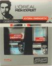 L'Oreal Men Expert Hydra Energetic Barber Shop Gavesæt 150ml Face Wash + 50ml Moisturising Gel