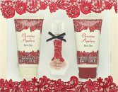 Christina Aguilera Red Sin Gavesæt 15ml EDP + 50ml Body Lotion + 50ml Shower Gel