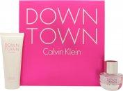 Calvin Klein Downtown Gavesæt30ml EDP + 100ml Shower Gel