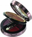 SUNkissed Cosmetics Radiance Compact - Bronzing Powder + Øjnskygge + 4 Lipstick glosses + 1 mini blusher børste + 1 Øje/Læbe Applicator