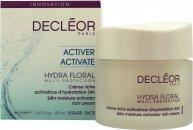 Decleor Hydra Floral 24hr Hydrating Rich Cream 50ml