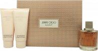 Jimmy Choo Illicit Gavesæt 100ml EDP + 100ml Body Lotion + 100ml Shower Gel
