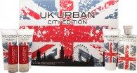 Jigsaw UK Urban City Edition Gavesæt 100ml EDT + 100ml Shave Gel + 100ml Aftershave Balm + 100ml Shower Gel + 2 x 20ml Travel Spray