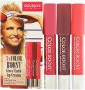 Bourjois Color Boost Gavesæt 3 x Lip Crayon