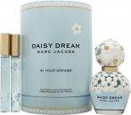 Marc Jacobs Daisy Dream Gavesæt 50ml EDT Daisy Dream + 10ml EDT Sweet Dream + 10ml EDT Daydream