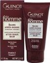 Guinot Trés Homme Moisturising & Soothing After Shave Balm 75ml